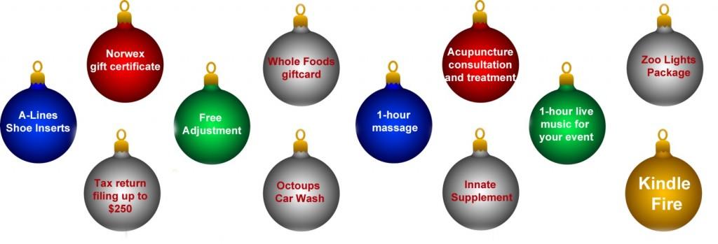 Ornament Prizes